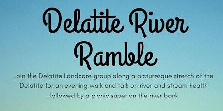 Delatite River Ramble tickets