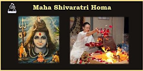 Maha Shivaratri  & Homa tickets