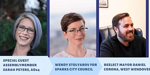 Co-Fundraiser for West Wendover Mayor Daniel Corona and Sparks Ward 1 City Council Candidate Wendy Stolyarov