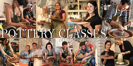 POTTERY CLASS -Pottery wheel  for beginners ( 2 hour) tickets
