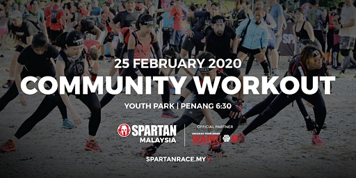 PG Free Spartan Community Workout - Youth Park 25th Feb 2020