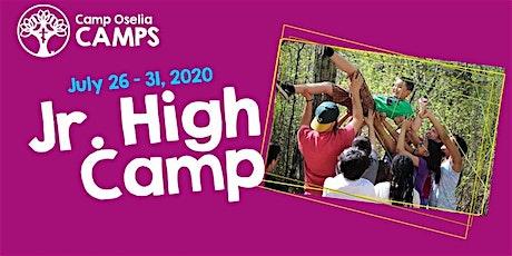 """Jr. High Camp """"Reserve a Spot"""" tickets"""