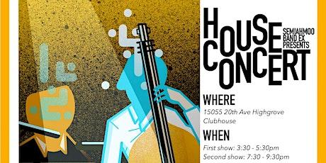 SEMI MUSIC Festival Prep House Concert tickets