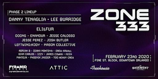Pyramid Events: ZONE 333 Pine St. Block @ Attic Orlando