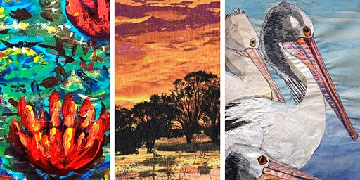 Free Artist Demonstrations: Painting, Drawing and Textiles