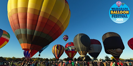 "Wairarapa Balloon Festival's ""Mass Ascension"" - Carterton"