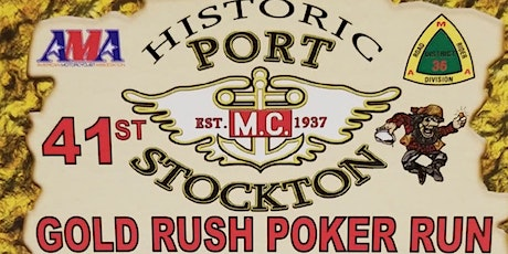 Annual GOLD RUSH POKER RUN - A Motorcycle Event tickets