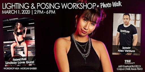 Lighting and Posing Workshop + Photowalk