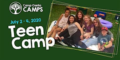 Teen (Gr. 10-12) Camp tickets