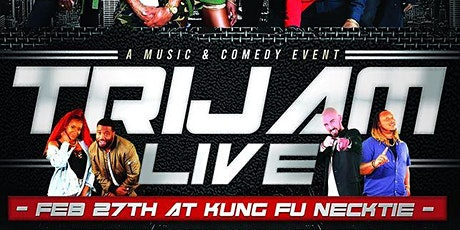 TriJam LIVE! - R&B, Hip Hop & Standup tickets