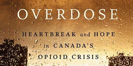 Overdose National Book Tour with Benjamin Perrin - Montreal, QC tickets