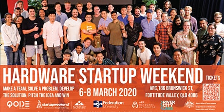 Arc & Techstars Hardware Startup Weekend March 2020 tickets