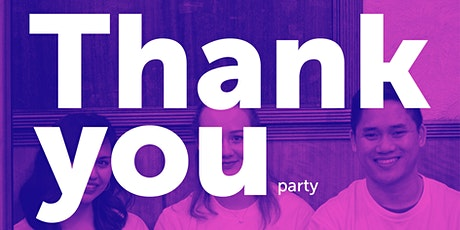 MLC volunteer thank you party tickets