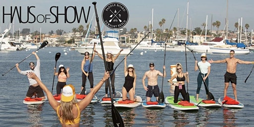 Stand Up Paddle Board Yoga