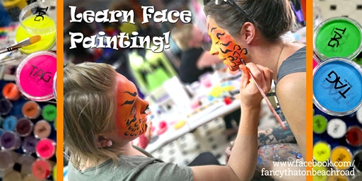 Beginners Face Painting Techniques Workshop