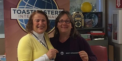 Jefferson County Toastmasters Speech and Evaluation Contest