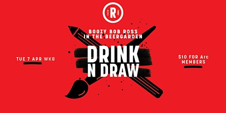 Drink'N'Draw | 18+ tickets
