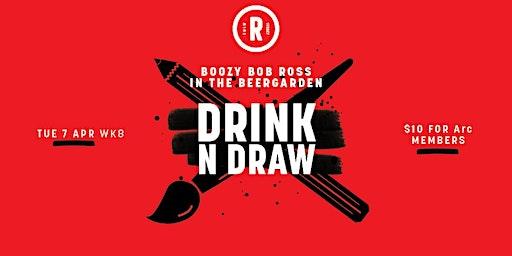 Drink'N'Draw | 18+