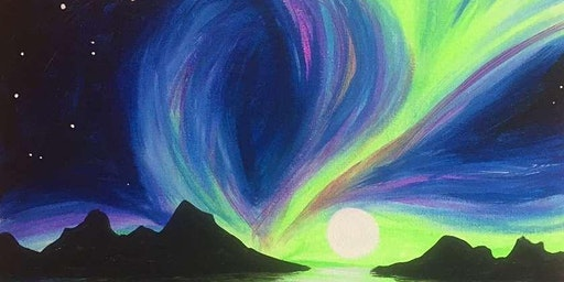 Paint & Sip: The Northern Lights