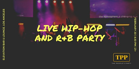 The People's Party: Live Hip-Hop and R&B Party tickets