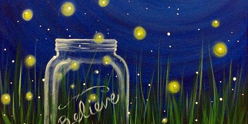 Paint & Sip: Floating Fireflies