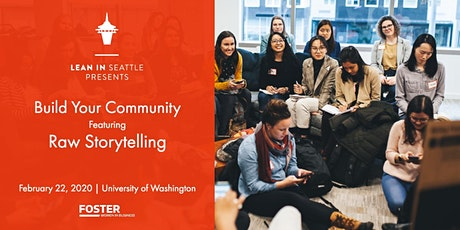 Build Your Community Featuring Raw Storytelling tickets
