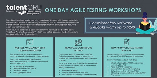 Agile One Day Testing Workshop