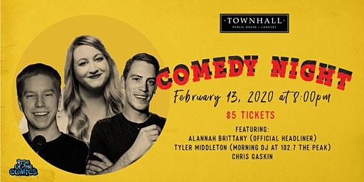 Comedy Night at Townhall Public House Langley