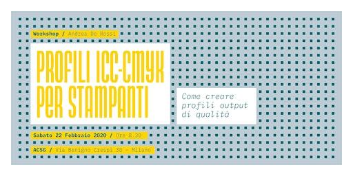 PROFILI ICC-CMYK: creare profili output di qualità