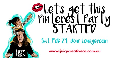 Let's Get This Pinterest Party STARTED - Saturday Workshop tickets