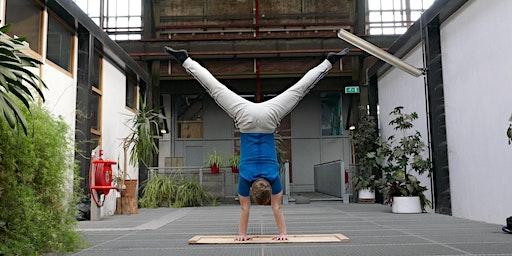 Final Spot: Amsterdam Handstand Workshop: Beginner to Novice Level