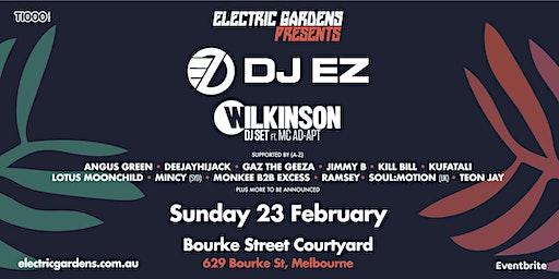 Electric Gardens Presents  DJ EZ