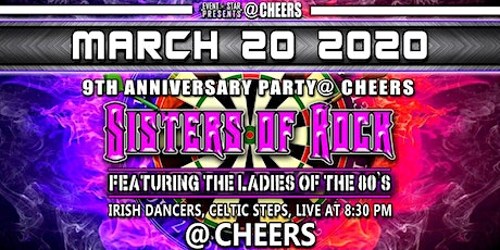 Sisters of Rock @ Cheers 9th Anniversary Weekend tickets