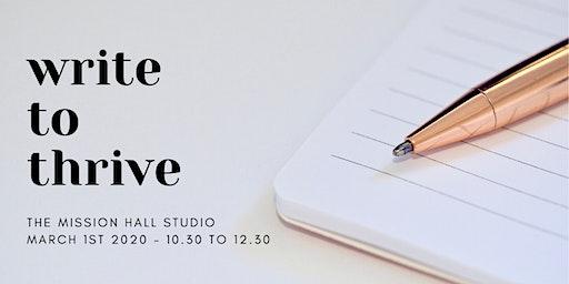 Write To Thrive