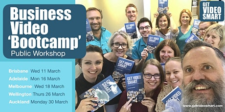 Business Video 'Bootcamp': AUCKLAND tickets