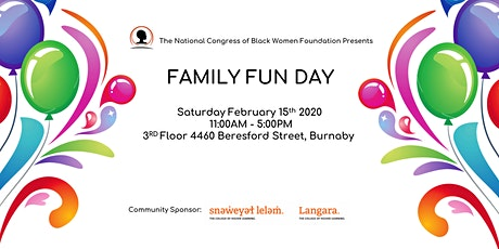 The NCBWF Present: Family Fun Day tickets