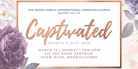 Captivated: 2020 Women's Day tickets