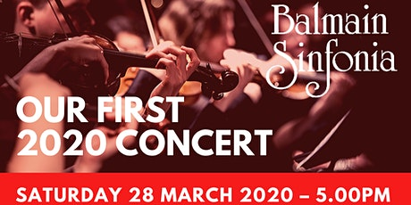 The Balmain Sinfonia | First Concert 2020 tickets
