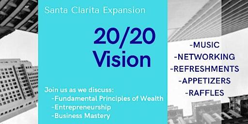20/20 Vision- Entrepreneurship  & Financial Literacy Event