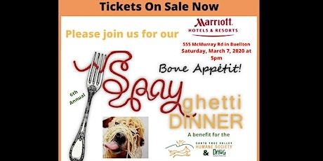 Spayghetti Dinner to benefit SYV Humane Society & DAWG tickets