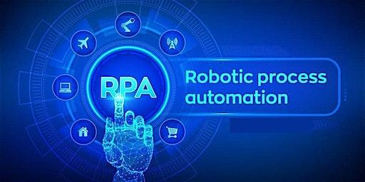 4 Weeks Robotic Process Automation (RPA) Training in Walnut Creek