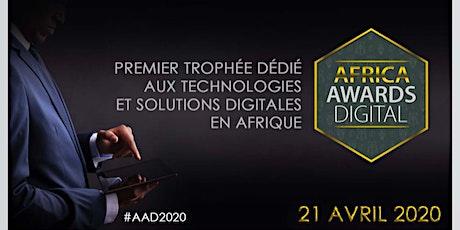 AFRICA AWARDS DIGITAL - Les Trophées du Digital Africain billets