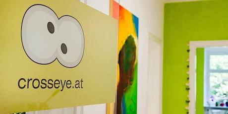 crosseye Workshop Pinterest für Unternehmen Tickets
