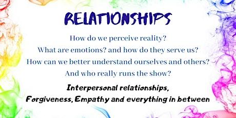Relationships - Seminar tickets