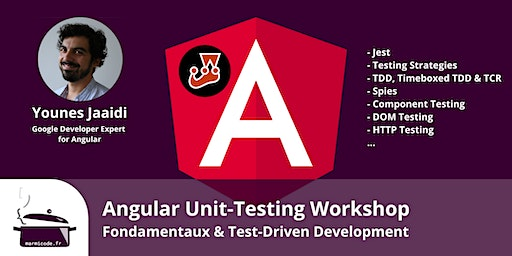 Angular Unit-Testing Workshop - Fondamentaux & Test-Driven Development