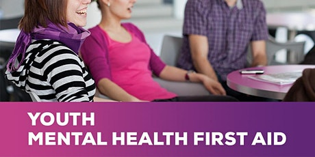 Youth Mental Health First Aid in Sale 20 & 27 July with Linda Curtis tickets
