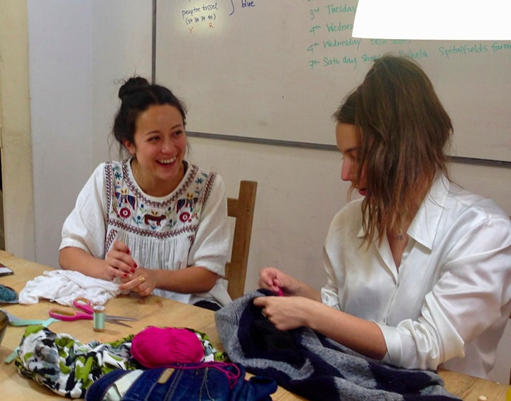 Clothing Repair Cafe at LSD: A Sustainable Fashion Event image