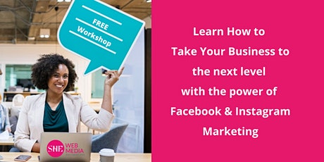 Learn how to take your business to the next level with the power of Facebook Marketing tickets