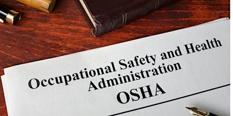 OSHA Focus 4 tickets