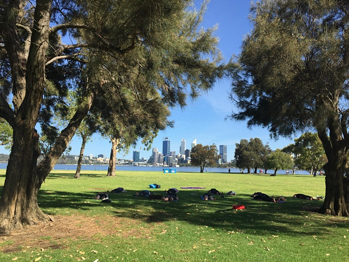 Park Stretch Out - Myofascial Release + Yin Yoga on the Foreshore image